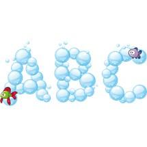 Stickers murali bambini cameretta tra i coralli for Crea la tua cameretta